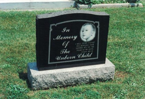 In Memory of The Unborn Child